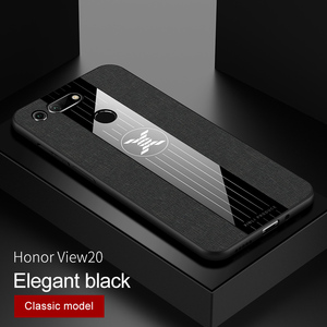 Для Huawei Honor 10i 20 Pro 10 Lite 20i View 20 10, деловой ультратонкий тканевый Мягкий чехол из ТПУ для Honor Note 10 Play V20 V10