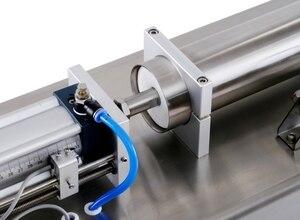 Image 4 - Flüssigkeit Füll Maschine Wasser Pneumatische Kolben Füllstoff Milch Waschmittel Chemische Shampoo Saft Öl Semi Automatische Ejuice Eliquid