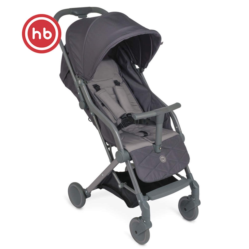 Lightweight Stroller Happy Baby umma Mother and Kids stroll baby for boys and girls children strollers grey Gray