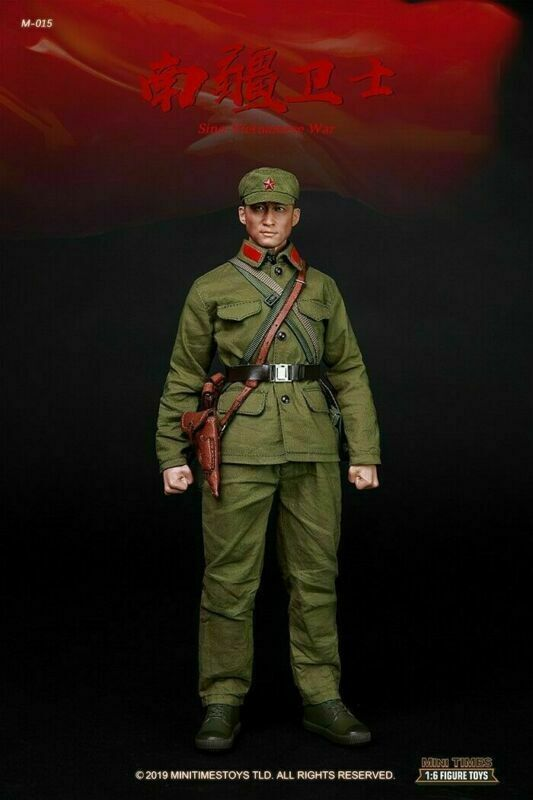 Mini Times Toys M015 1//6 Scale PLA Sino-Vietnamese War Solider Shoes Model