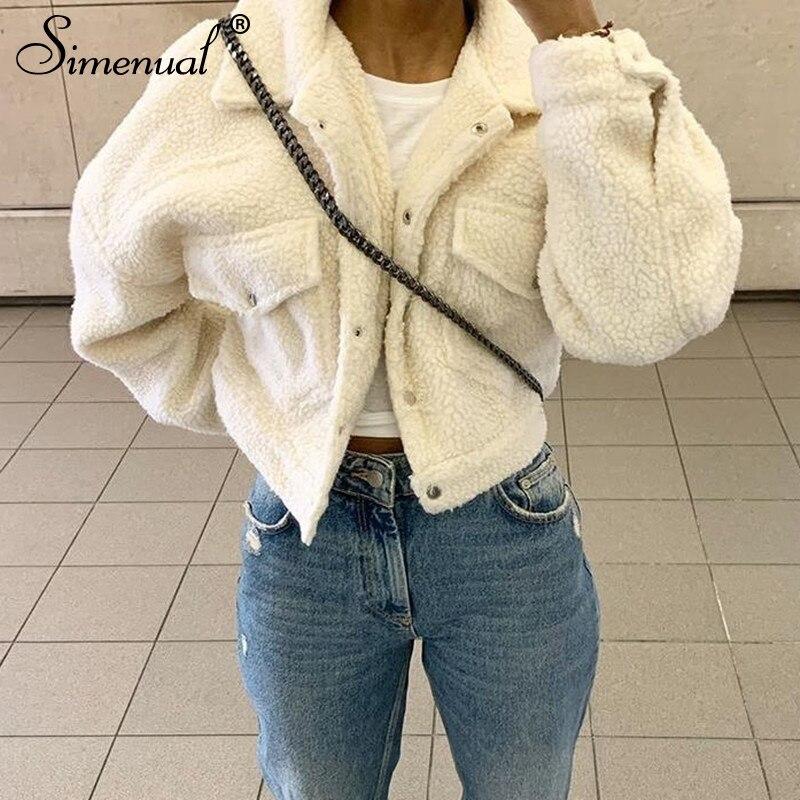 faux lambwool women jackets (2)