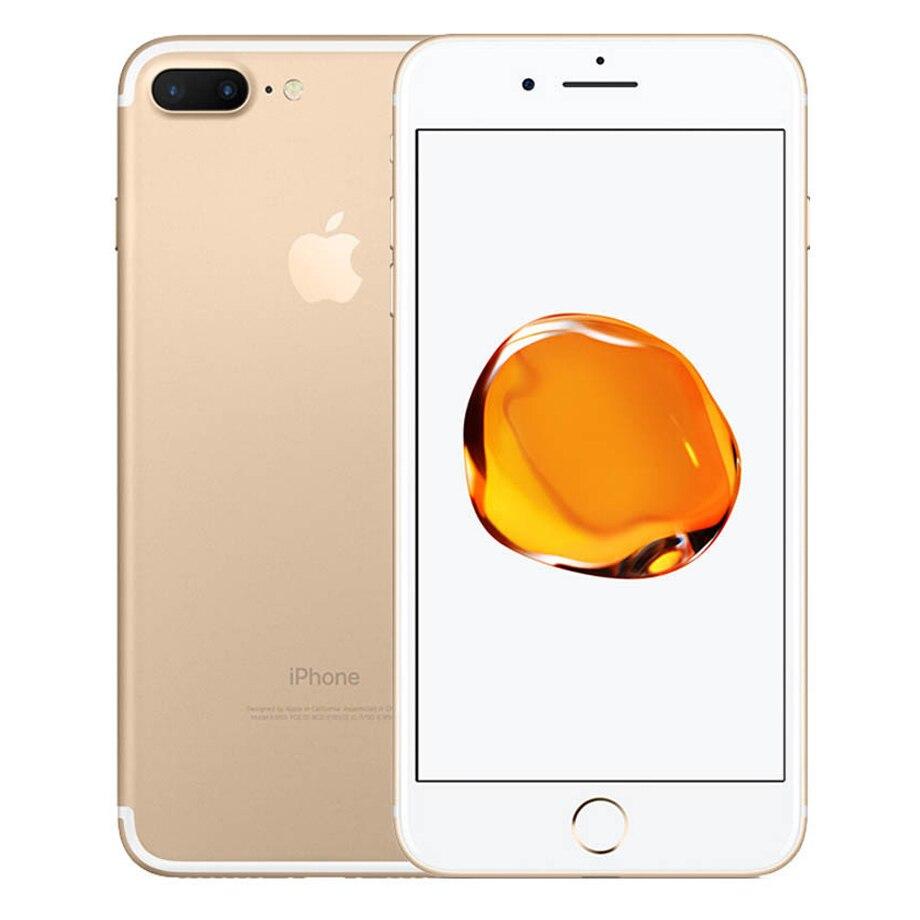 """Apple iphone 7 plus 7 mais fábrica desbloqueado original dupla real camare 4g lte 5.5 """"quad core a10 12mp ram 3gb telefone celular móvel 5"""