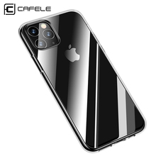 Cafele for iPhone 11 Pro Max Transparent Phone Case Soft TPU Ultra thin Crystal Protective Cover