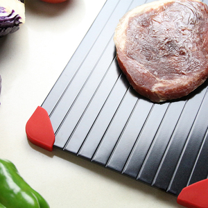 Image 5 - Fast Defrosting Plate Thaw Tray  Froze Defrost Meat Fruit Food Quick Defrosting Plate  Thaw Board( Include 4pcs Protect Corner)