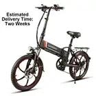 Электрический велосипед ZIYOUJIGUANG, 20 дюймов, складной электрический велосипед, скутер, 350 Вт, соединенный двигатель