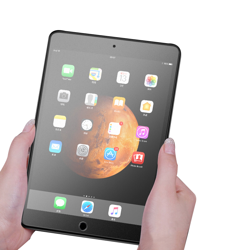 Full Cover Matte Frosted Tempered Glass  For Apple IPad 5 6 2017 2018 IPad Air 1 2 Mini 4 5 9.7 Tablet Screen Protector Film