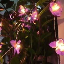 3 метра 20 светодиодный светильник гирлянда декоративные цветы USB мощность праздничный светильник ing Рождество Свадебная вечеринка украшения гирлянды для дома