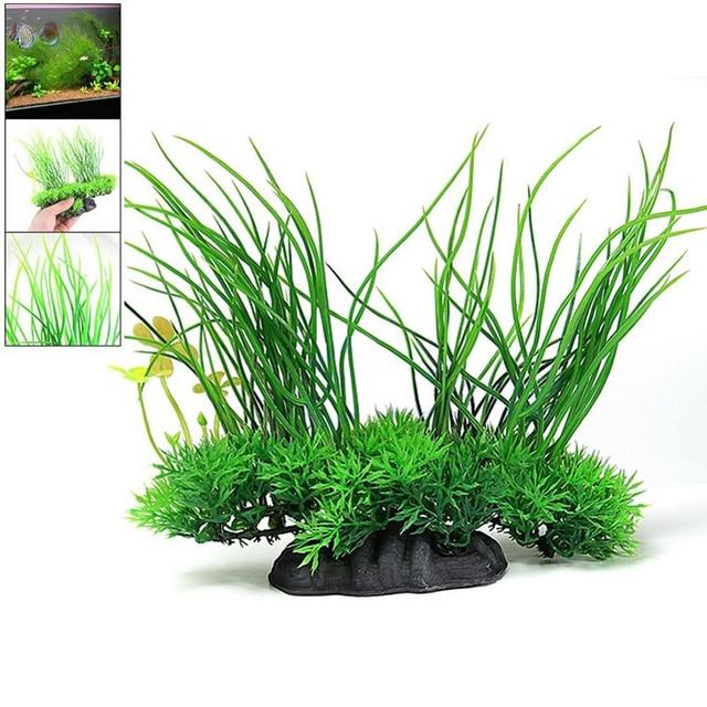 Artificial Aquarium Plant Decoration Fish Tank Submersible Flower Grass Decor Ornament For fish tank Decor Pet Supplies 3