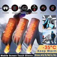 Motorrad Handschuhe Männer Racing Moto Motorrad Motocross Reiten Handschuhe Motorrad Winter Warme Thermal Voll Finger Guantes