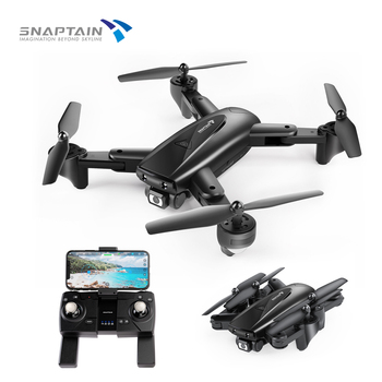 SNAPTAIN SP500 Foldable FPV Camera Drone RC with 1080P HD Drones RC Quadcopter Smart drone gps Return Auto Hover 5G WiFi Drones цена 2017