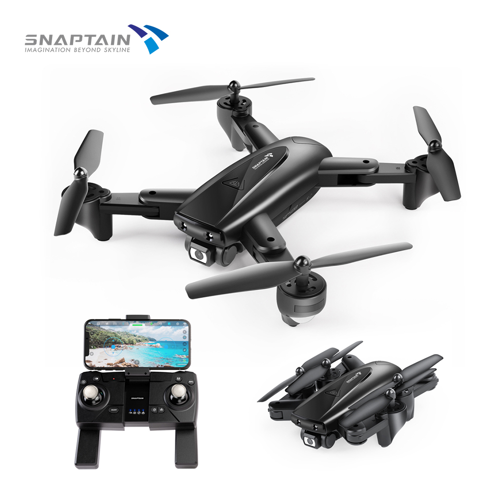SNAPTAIN SP500 Foldable FPV Camera <font><b>Drone</b></font> RC with 1080P HD <font><b>Drones</b></font> RC Quadcopter Smart <font><b>drone</b></font> gps Return Auto Hover <font><b>5G</b></font> WiFi <font><b>Drones</b></font> image