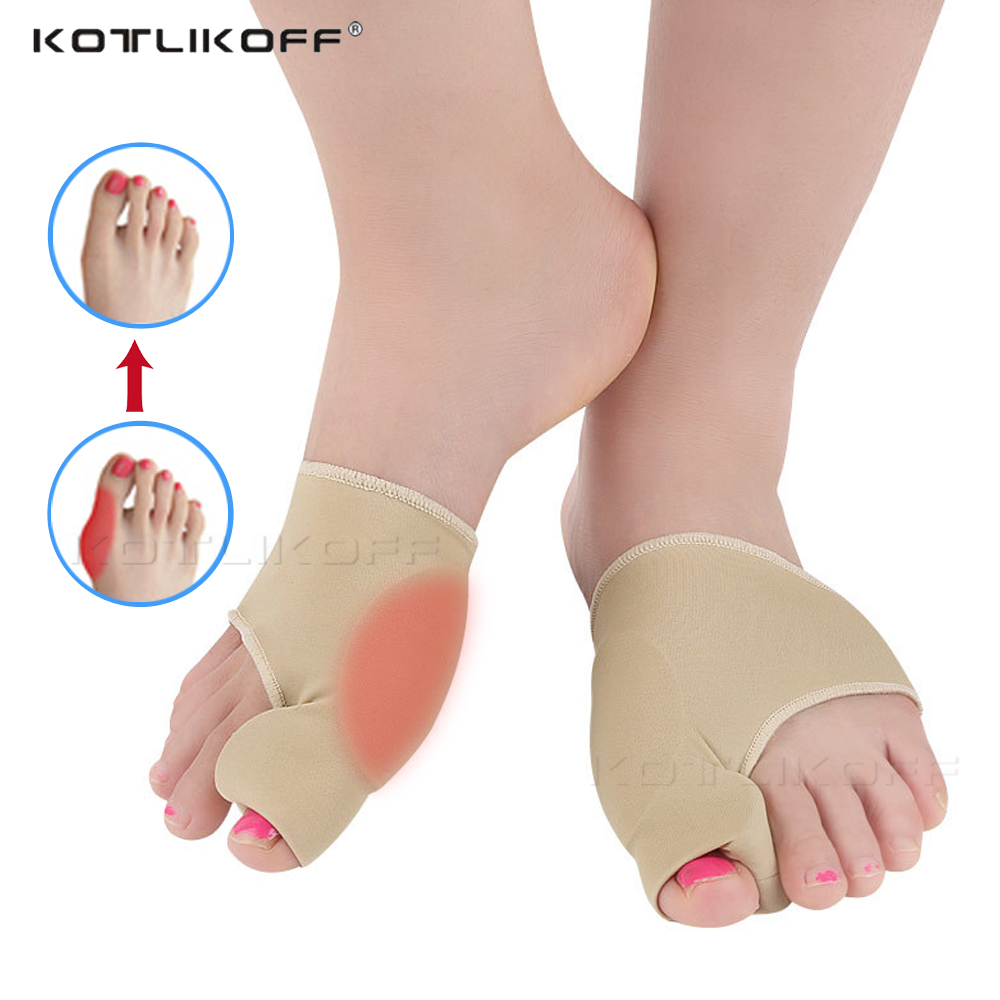KOTLIKOFF Inserts Hallux Valgus Corrector Pad Five Toes Separator Silicone Honeycomb Forefoot Pad for Big Toe Orthopedic Inserts