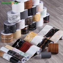 Stickers Skirting Marble Wallpaper Roll Living-Room-Decor Wood Self-Adhesive Border Bathroom
