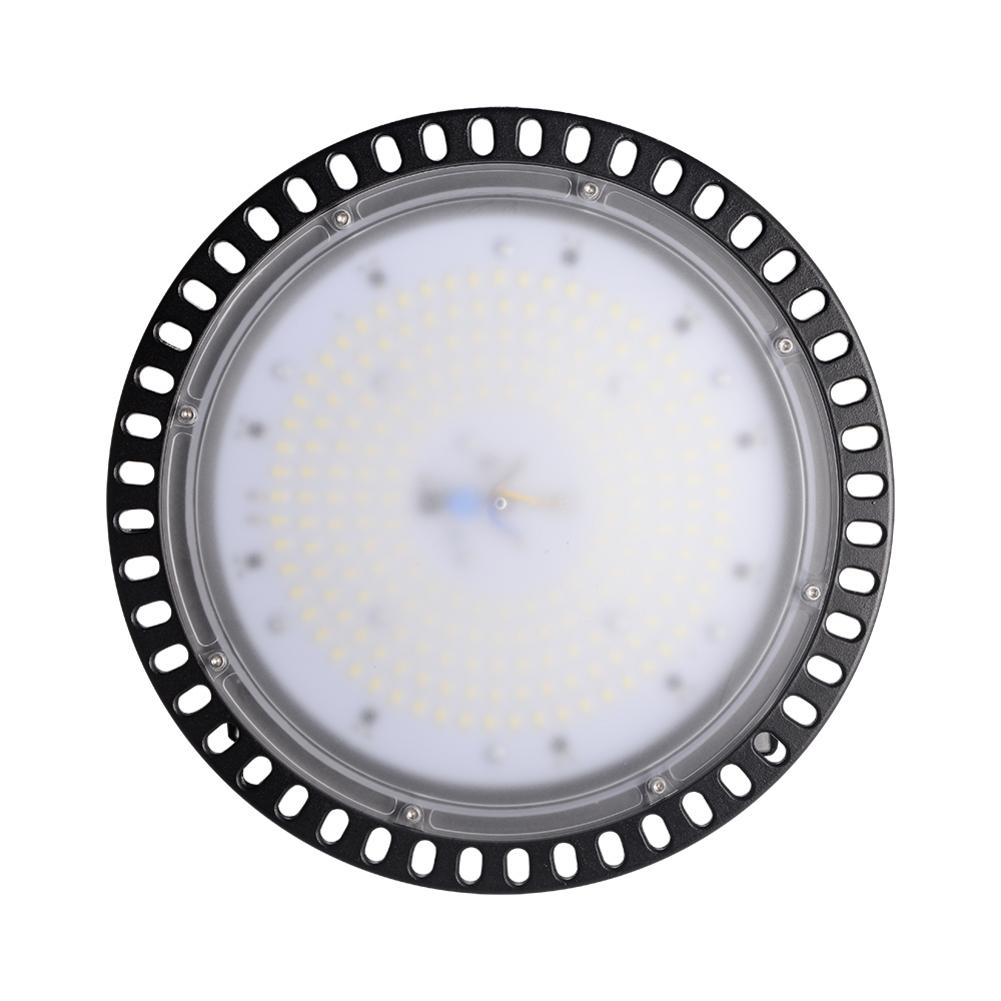 Industrial UFO LED Light 100W 110V Ultra-thin UFO Light High Bay Light Waterproof Ceiling Light Warehouse Factory Lamp image