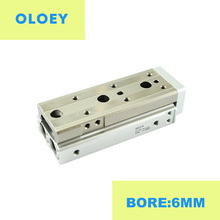 цена на MXQ MXQ6 MXQ6-10 MXQ6-20 MXQ6-30 MXQ6-40 MXQ6-50 Slide table Double Acting Pneumatic Air cylinders component SMC Type