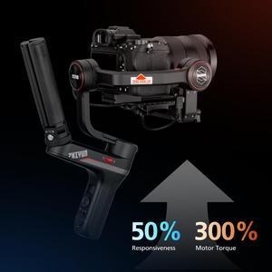 Image 5 - Zhiyun Weebill S, Sony A7M3 Nikon D850 Z7, 300% 향상된 모터와 같은 미러리스 및 DSLR 카메라 용 랩 3 축 짐벌 안정기