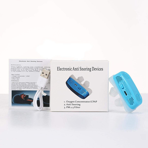 Image 5 - 3 Colors Can Choose Electronic Anti Snoring Devices Oxygen Concentrator Snoring Stopper Nose Vent Dilator   USB Rechargeable