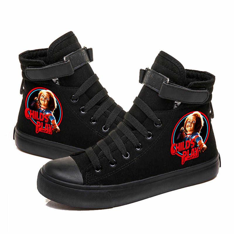 Fashion Chucky Men Shoes Flat Platform