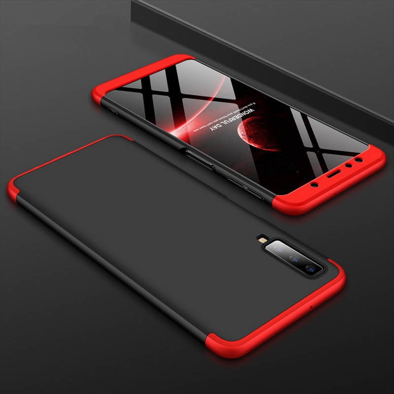 Fashion <font><b>360</b></font> Degree Hard Hybrid Plastic Phone <font><b>Case</b></font> For <font><b>Samsung</b></font> Galaxy A7 A6 A8 Plus J8 J4 J6 Plus 2018 S9 S8 Plus <font><b>Note</b></font> 9 <font><b>8</b></font> Cover image