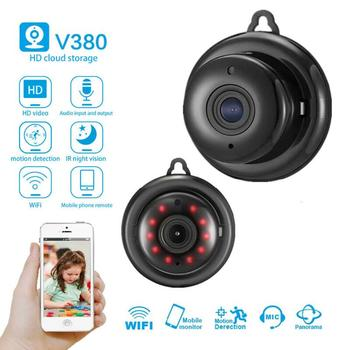 цена на Wireless Mini WIFI 1080P IP Camera Cloud Storage Infrared Night Vision Smart Home Security Baby Monitor Motion Detection SD Card