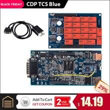 CDP TCS CDP PRO Plus Bluetooth. R3 keygen программное обеспечение OBD2 Авто сканер для автомобилей грузовиков OBDII диагностический инструмент