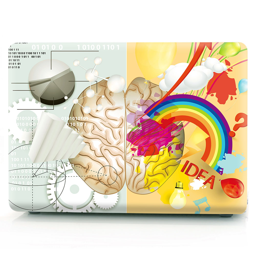 Brain Painting Case for MacBook 133