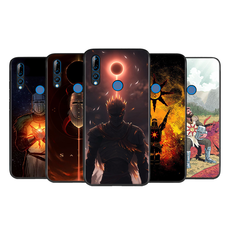 Silicone Cover The Sun Dark Souls Games For Huawei Honor 10i 9X 8X 10 9 Lite 8 8A 7A 7C 7S Pro Bright Glossy Phone Case