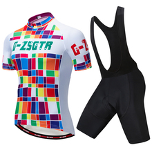 cycling kit mens 2019 Pro Cycling Jersey Set MTB Clothes Quick Dry Bicycle Summer Sportswear Bike Jerseys Ropa Ciclismo 9D Gel