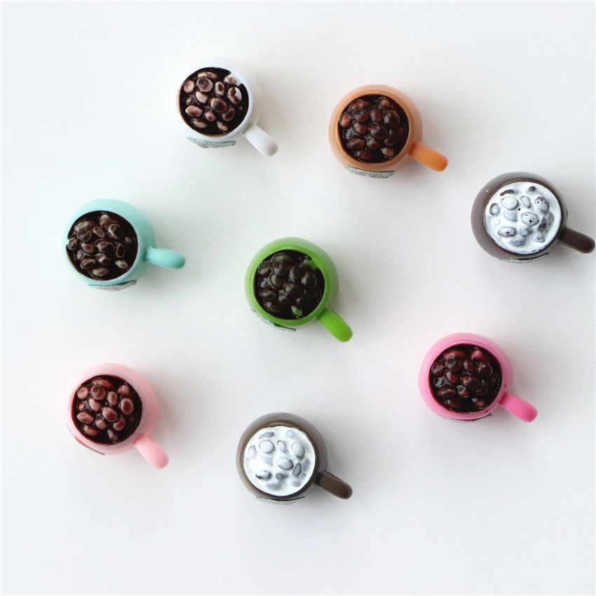 Autocollants magnétiques pour réfrigérateur | 8 pièces/lot, tasses solides, aimants pour réfrigérateur, autocollant de message, nouveauté, décor maison/cuisine, aimant mignon pour tableau blanc