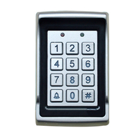 Electronic Access Control Dustproof Home Safety Protection Keypad Waterproof LED Backlight Digital Card Password Reader Entry