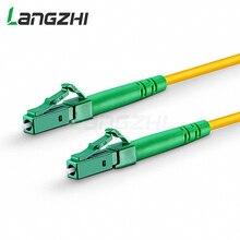 10 pcs LC APC LC APC Modalità Singola Fibra Simplex 2.0 millimetri 3.0 millimetri PVC Patch Cable lc multimodale sc upc cavo patch