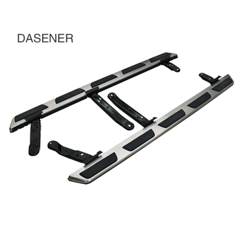 original style nerf bar running board side step for chery tiggo 3 5 7 supplied by reliable old seller free shipping to asia New Step Board SUV Accessories 4x4 Automatic Side Step/car running board/nerf bars for Q5 Q7