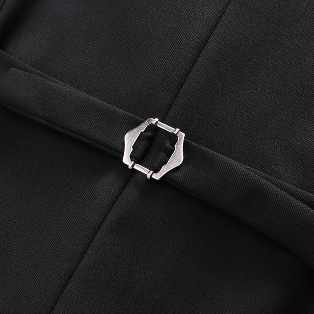 2020 New Arrival Morning suit Wedding Suits For Men Best man's Three Peices Suits (Jacket+Pants+vest) Custom made Black Suits 5