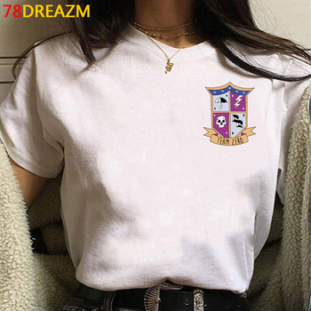 the Umbrella Academy tshirt top tees femme streetwear harajuku kawaii print plus size t shirt clothes harajuku white t shirt 1