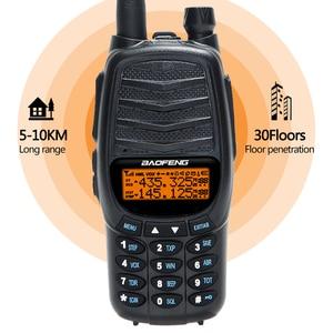Image 3 - New Baofeng UV X10 Radio 10W Powful Walkie Talkie 2 PTT Dual Band VHF UHF 128 Channels CB Two Way Radio Better Than UV 5R UV 82
