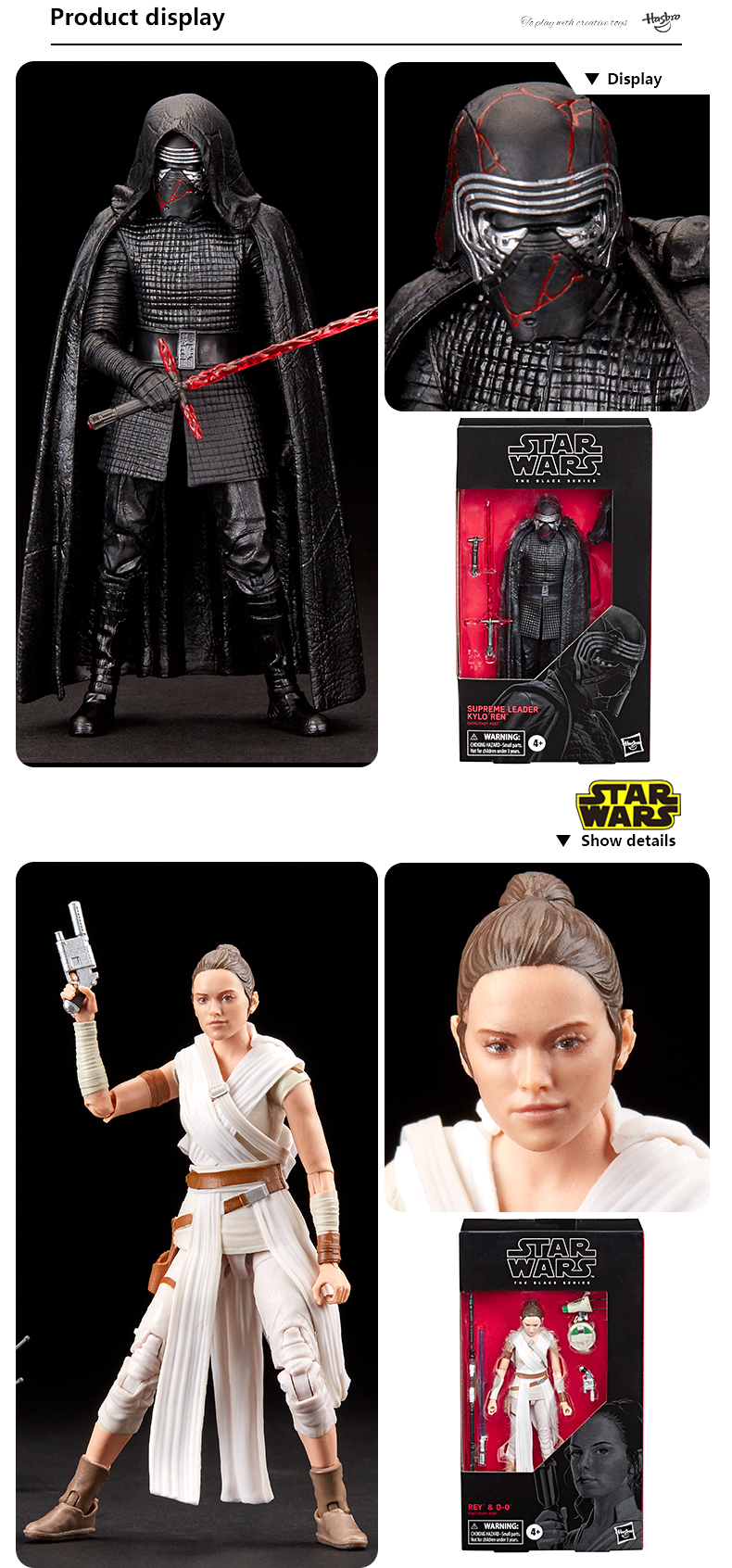 Star Wars The Black Series First Order Action Figures 15cm 3