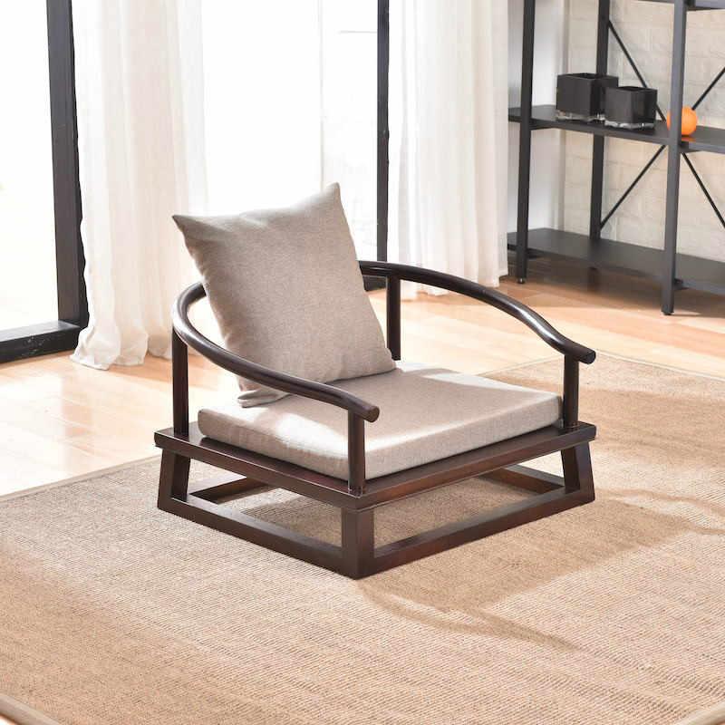 chaise tatami moderne fauteuil bas