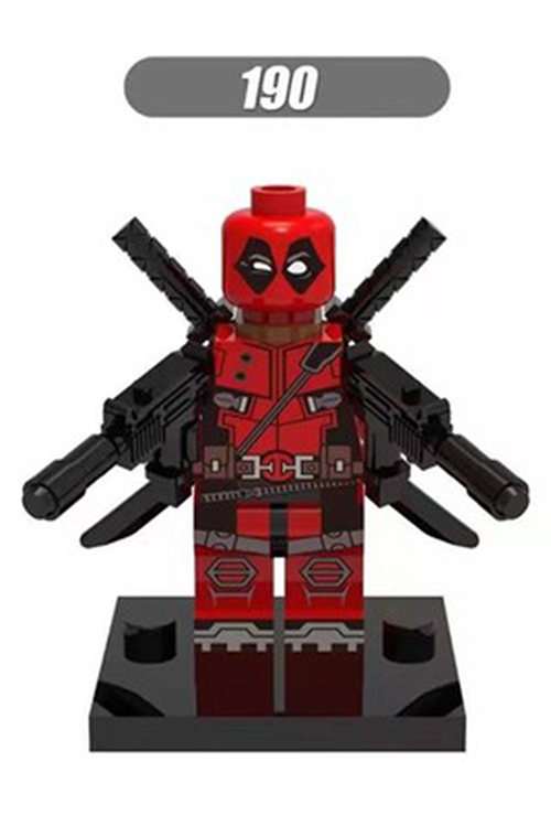 Hot Single Sale LegoINGlys Super Heroes Deadpool 2 Movie Wade Weapon Building Blocks Bricks Children Brithday Gift Toys Xh190