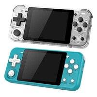 POWKIDDY-mando de juegos Q90 Retro, pantalla IPS de 3,0 pulgadas, 16GB, sistema Dual de código abierto, Mini consola portátil de bolsillo para videojuegos