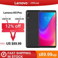 Ursprüngliche Globale Version Lenovo K5 Pro 6GB RAM 64 GB/128 GB Snapdragon 636 Octa Core Vier Kameras 5,99 zoll 4G LTE Smartphone
