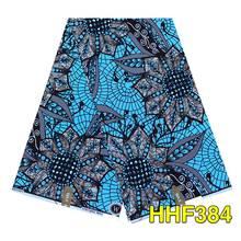 アンカラアフリカンプリントワックスpagne綿生地アフリカ縫製ウェディングドレス工芸材料綿100% ワックス