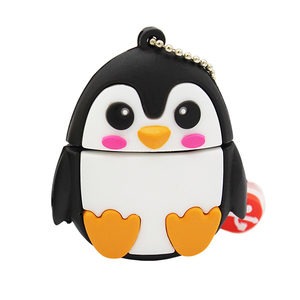Image 2 - TEXT ME 64GB cute cartoon Penguin owl fox style usb flash drive usb 2.0 4GB 8GB 16GB 32GB vreative pendrive gift