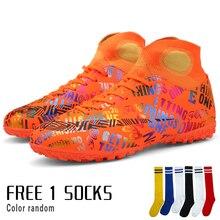 Turf boys soccer shoes kids children 2016 futbol sneakers for football