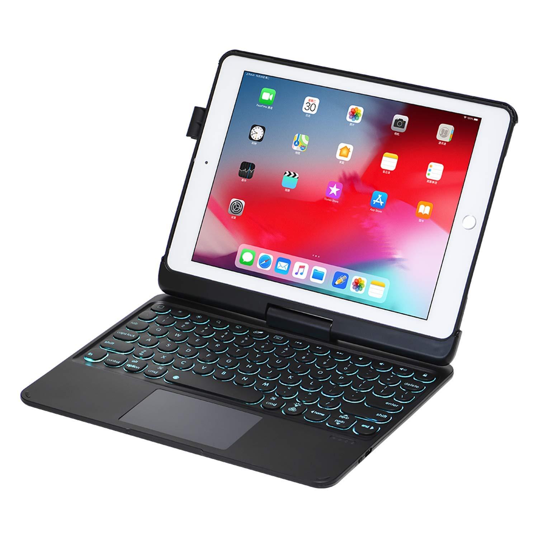 9.7 retroiluminado touchpad teclado capa para ipad