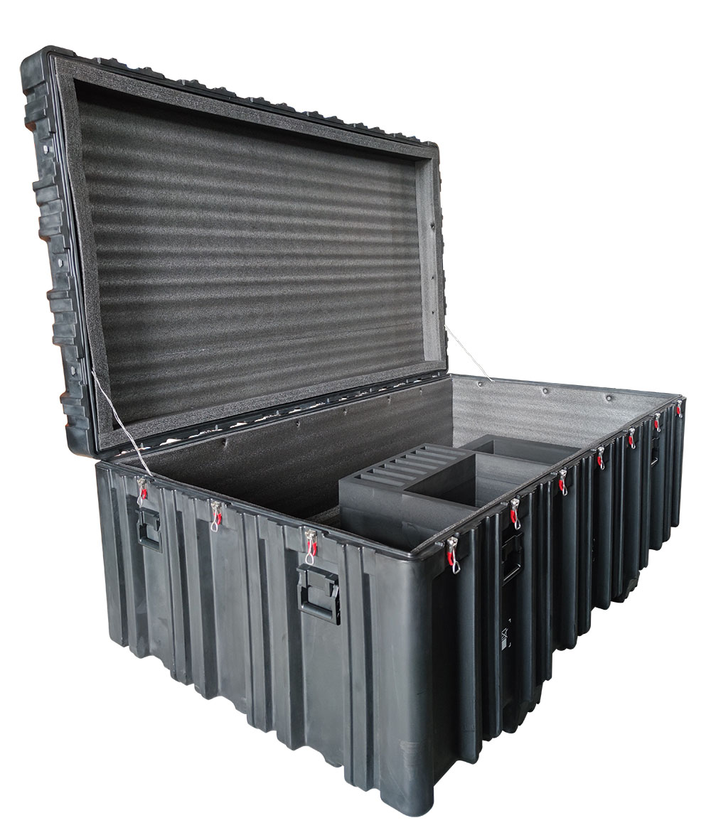 Euipment-Case Tricases Large Rotational-Mold Hard-Military-Case Plastic RS930 Shanghai