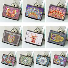 DIY Special Shaped Diamond Painting Bracelet Wallet Embroidery Cross Stitch Bag стоимость