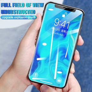 Image 3 - 15H Protective tempered glass for iphone 11 X XS XR MAX glass On iphone 11 pro max screen protector Front and Back and Lens Film