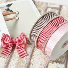 2.5 cm bolo caixa de presente pacote grade com fita acessórios para vestuário fita pano cinto manual diy baking fita