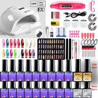Kit Manicure per unghie per asciuga lampada per unghie Gel seleziona 20/18//10 Set di smalti per unghie e trapano per unghie elettrico strumenti per Nail Art set di unghie