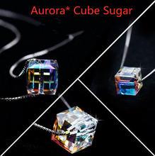 Новые модели; Аврора сахар колье с австрийскими кристаллами